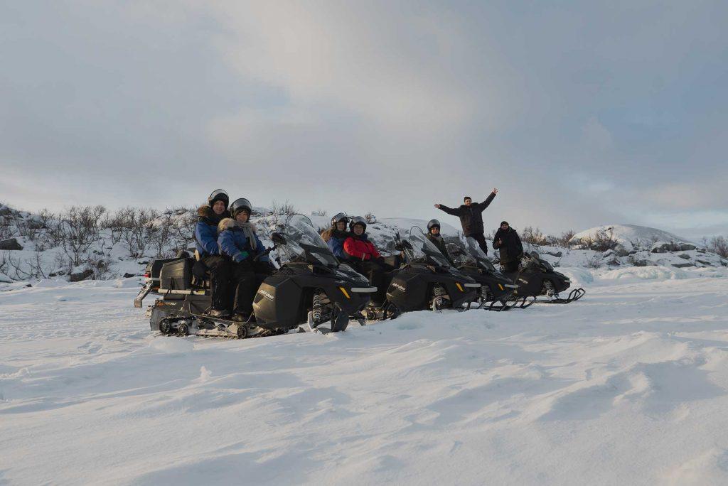 Snowmobile Abisko